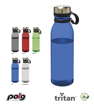 BORRACCIA IN TRITAN 800 ML CON PORTATAPPO