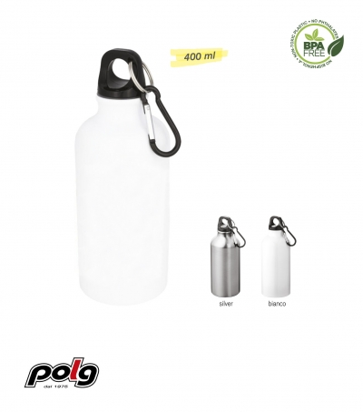 BORRACCIA IN METALLO 400 ML - FULL COLOR