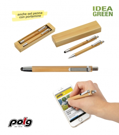 PENNA IN BAMBU' TOUCH