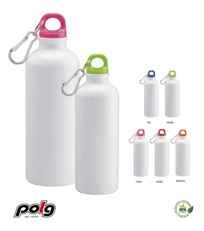BORRACCIA ALLUMINIO 500 ML WHITE